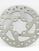 RED LAND Cycling/Bike /Bike Brakes & Parts Steel / Stainless SPD - Current Speed 120 mm Brake Disc 100 Silvery