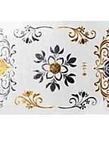 Lovely Waterproof Metal Small Gold Face Sticker W191