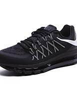 NIKE AIR MAX 2015 ANNIVERSARY PACK Men's Running Shoes Fabric Black / Black and Red / Black and White