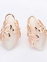 Fashion Jewelry 2016 New Earrings For Women Korean Style Fresh Flower Stud Earring