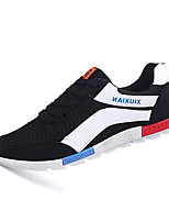Men's Shoes Casual Tulle Fashion Sneakers Black / Blue / Gray