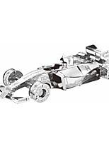 Puzzle 3D Puzzle / modelli in metallo Costruzioni Giocattoli fai da te Auto Metallo Argento Modellino e gioco di costruzione