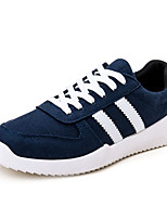 Men's Shoes Casual Canvas Fashion Sneakers Black / Blue / Red