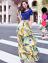 VERRAGEE® Women's Maxi Skirt-B403