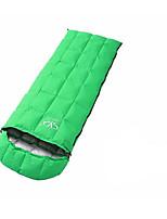 Sleeping Bag Rectangular Bag Single 20 Duck Down 1500g 180X73 Camping / Beach / Traveling