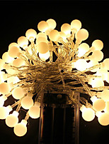 Aa Battery Led String Light Cherry Ball Led Light 5M 40Led Decoration Light For Home/Party/Wedding