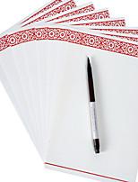 antigua tinta china kraft de escritorio de papel (un conjunto de 8 piezas de patrón aleatorio)