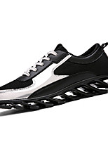 Men's Summer Comfort Tulle Casual Flat Heel Silver / Gold Sneaker