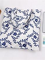 Women-Casual-Canvas-Shoulder Bag-White