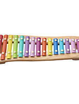 Wood Yellow Child Hand Knock Piano for Children All Musical Instruments Toy