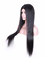 100% Unprocessed Peruvian Virgin Human Hair Wigs 4*4 Glueless Silk Top Full Lace Wigs Silk Straight