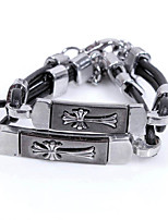 The New Fashion Lovers Leather Alloy Bracelet / Party / Daily / Casual / Sports