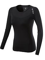 Carrera Tops / Camiseta Mujer Mangas largas Compresión Running Deportes Ropa deportiva Otros