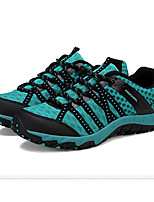 Men's Summer Comfort Tulle Casual Flat Heel Black / Blue / Gray / Fuchsia Sneaker
