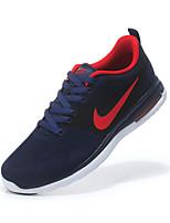 Sapatos Corrida Masculino Preto / Azul Marinho Tecido