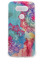 For LG Case Case Cover Pattern Back Cover Case Mandala Soft TPU for LG