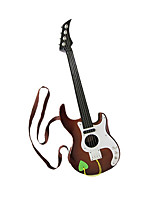 Plastic Brown Simulation Child Guitar for Children Above 3 Musical Instruments Toy Random Delivery