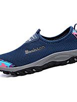 Zapatos de Hombre-Sneakers a la Moda-Casual-Tul-Negro / Azul / Rosa / Morado