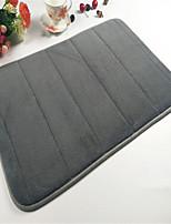 Hot Sale Super Soft Coral Velvet Material Absorbent Sponge Non-Slip Mat W16