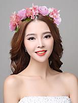 여성 패브릭 / 플라스틱 투구-웨딩 / 특별한날 헤어리스 1개