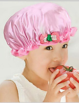 Cute  Waterproof Shower Caps Child Kid Bath Spa Caps Elastic Hats