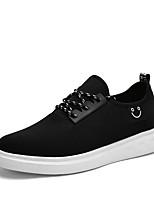 Scarpe da uomo-Sneakers alla moda-Tempo libero / Casual / Sportivo-Tessuto-Nero / Blu / Rosso