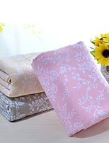 Knitted Multi-color Floral Full Cotton Blanket W59