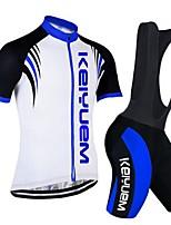 Sets de Prendas/Trajes(Azul) -Transpirable / Secado rápido / A prueba de polvo / Listo para vestir / Reductor del Sudor / Capilaridad /