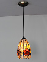 6 inch Retro Tiffany Pendant Lights Shell Shade Living Room Dining Room light Fixture