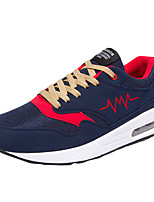 Men's Shoes Athletic Tulle Fashion Sneakers Black / Blue / Gray / Orange