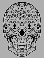 Fashion / Shapes / Abstract / Fantasy  Skull Wall Mural/Decals 3D Wall Stickers Plane Wall Stickers,vinyl 58*84cm,