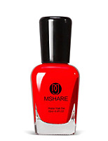 Mshare Pregnant Women with Children Available Red 15ML Nail Polish for 2 Years
