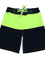 Lesmart Men's Shorts Pants Green / Dark Blue-SS16128