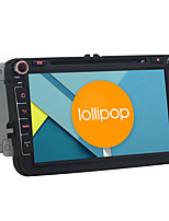 Android 5.1.1 Lollipop Car DVD Player for Volkswagen Skoda Quad Core 8 Inch 1024*600 GPS Navigation