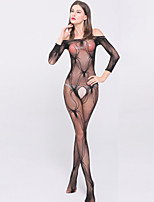 Women's Spider Jacquard Mesh Ultra Sexy / Teddy Nightwear,Nylon