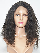 Short Length Kinky Curl Hair Wigs Lace Front Human Hair Wigs For Black Women