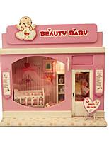 Pretty Baby Diy Cabin Illuminated Hand Assembled Model Chi Fun House Europe Shop Series