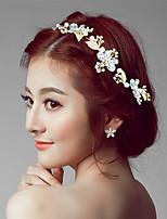 Dame Rhinestone / Legering Headpiece-Bryllup / Spesiell Leilighet Pannebånd 1 Deler