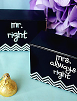 12 Piece/Set Favor Holder - Bride and Groom Wedding Favor Box Party Decoration