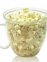 Popcorn Maker Cooking in Microwave Can Be Customized Heating Plastic Popcorn Cup Creative Popcorn Bucket