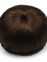 Kinky Curly Brown Human Hair Lace Wigs Chignons 2009