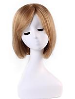 style bob doux court remy syraight cheveux humains main liée -top perruques de Emmor de femme