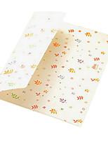 3 dos desenhos animados saco de armazenamento cartão de cor envelope (padrão aleatório)