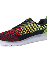 LED's Shoes Men's Shoes Casual Tulle Fashion Sneakers Black / Blue / Red