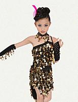 Accesorios(Champán / Fucsia,Espándex / Poliéster,Danza Latina) -Danza Latina- paraNiños