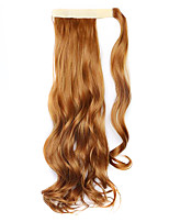 Wig Brown 45CM Synthetic High Temperature Wire Curly Horsetail Color 27S