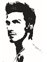 9187 Sports Super Star Wall Stickers Beckham Football Popular Player Living Room Portraits Art Wallpaper