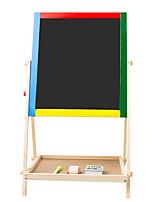 tablero de dibujo magnética de madera maciza para niños