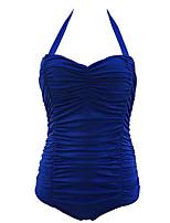 Summer Retro Totems Female's Swimwear Blue