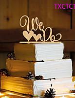 Tortenfiguren & Dekoration Nicht-personalisierte Monogramm Harz Hochzeit Gelb Schmetterling 1 OPP